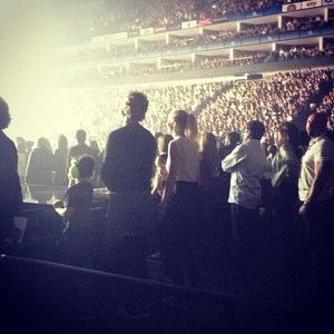 Chris Martin, Gwyneth Paltrow, Jay Z, Beyonce's London Concert