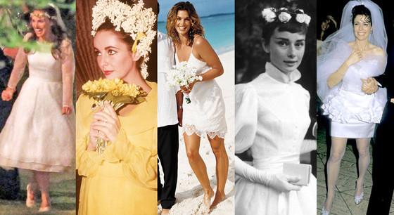 Short Wedding Dress Split