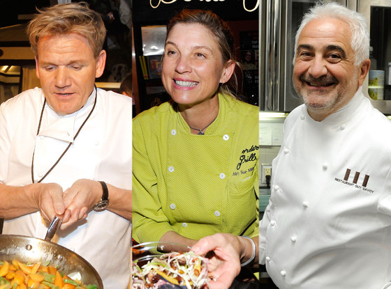 Gordon Ramsay, Mary Sue Milliken, Guy Savoy