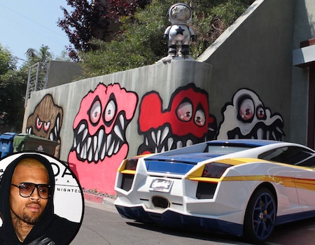 Chris brown loses initial bid to keep monster mural for Chris brown mural