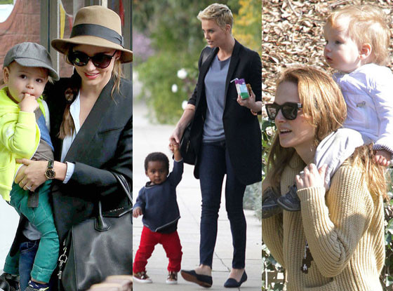 Natalie Portman, Miranda Kerr, Charlize Theron