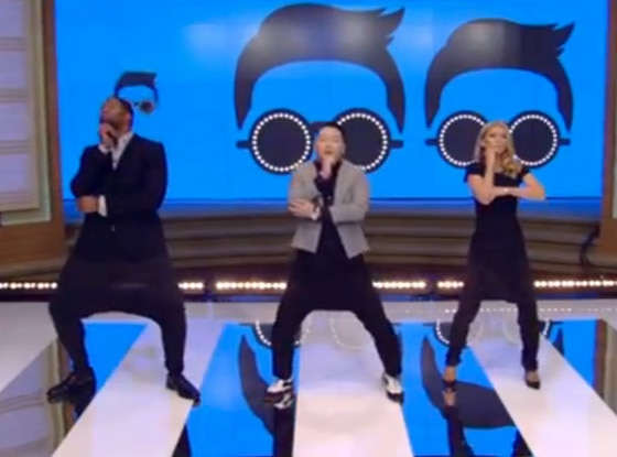 Psy, Live with Kelly and Michael