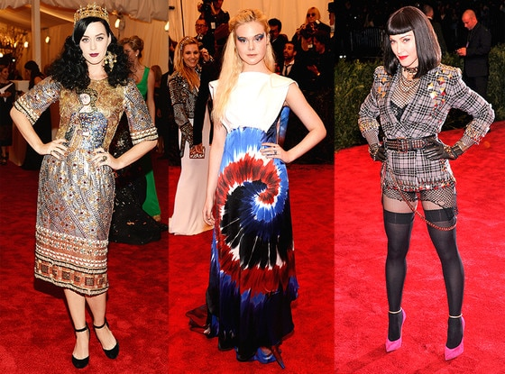 Elle Fanning, Madonna, Katy Perry