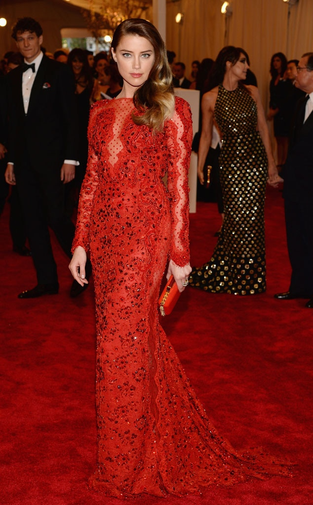 Amber Heard, MET Gala