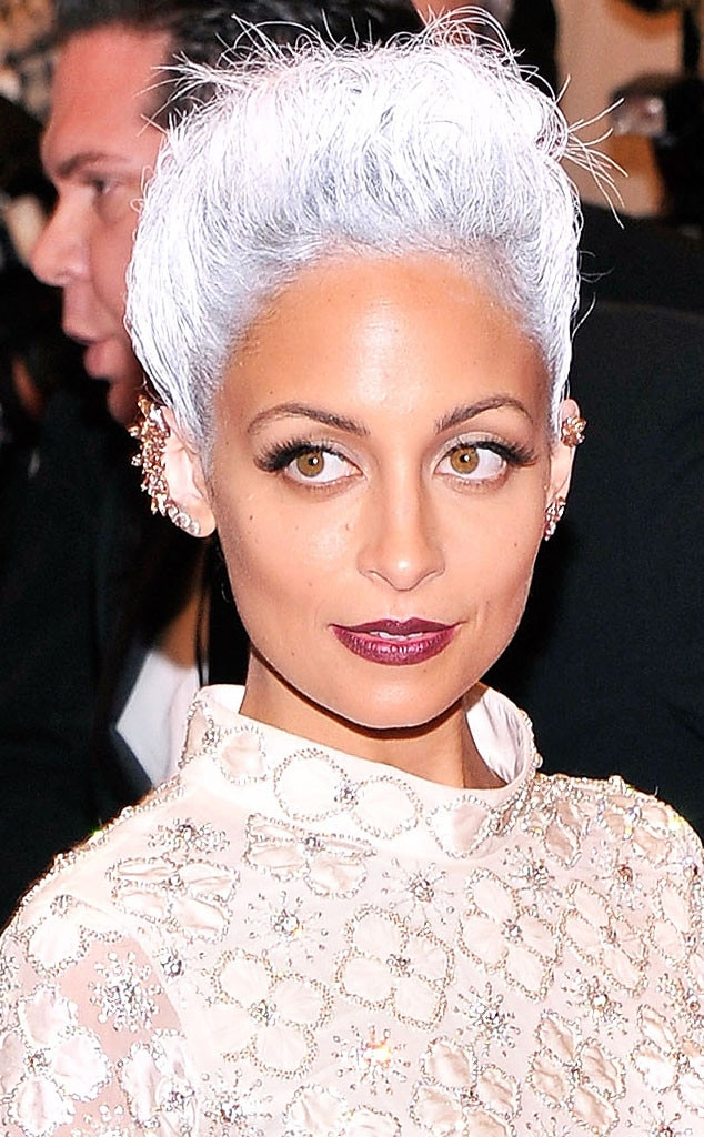 Nicole Richie From Met Gala 2013 Punk Hair E News