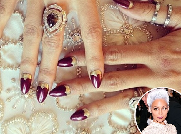 Nicole Richie, MET Gala, Nails