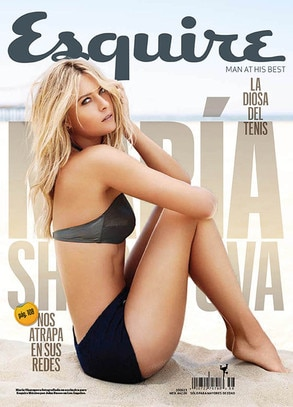 Maria Sharapova, Esquire Cover