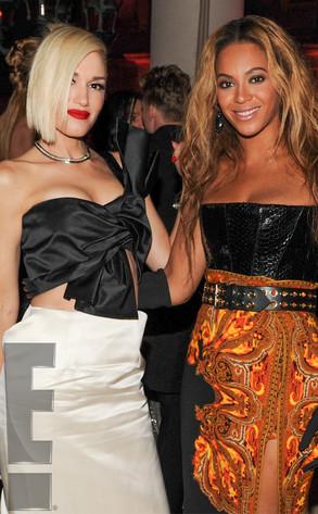 Gwen Stefani, Beyonce Knowles, MET Gala