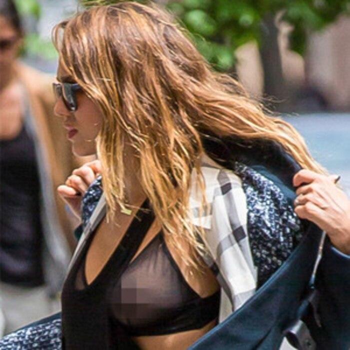 Jessica Alba, Nipple