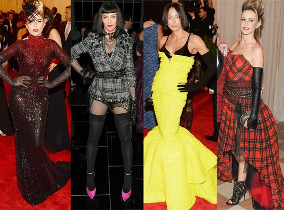 Paloma Faith, Madonna, Lisa Maria Falcone, Dee Hilfiger, MET Gala, Gloves