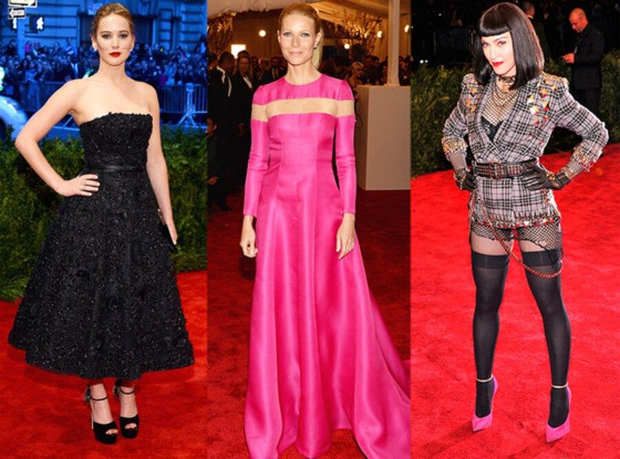 Gwyneth Paltrow, Madonna, Jennifer Lawrence