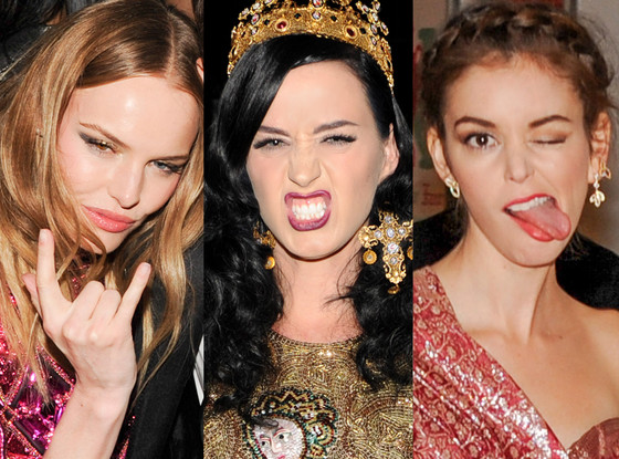 Punk Face, Kate Bosworth, Katy Perry, Nora Zehetner, MET Gala