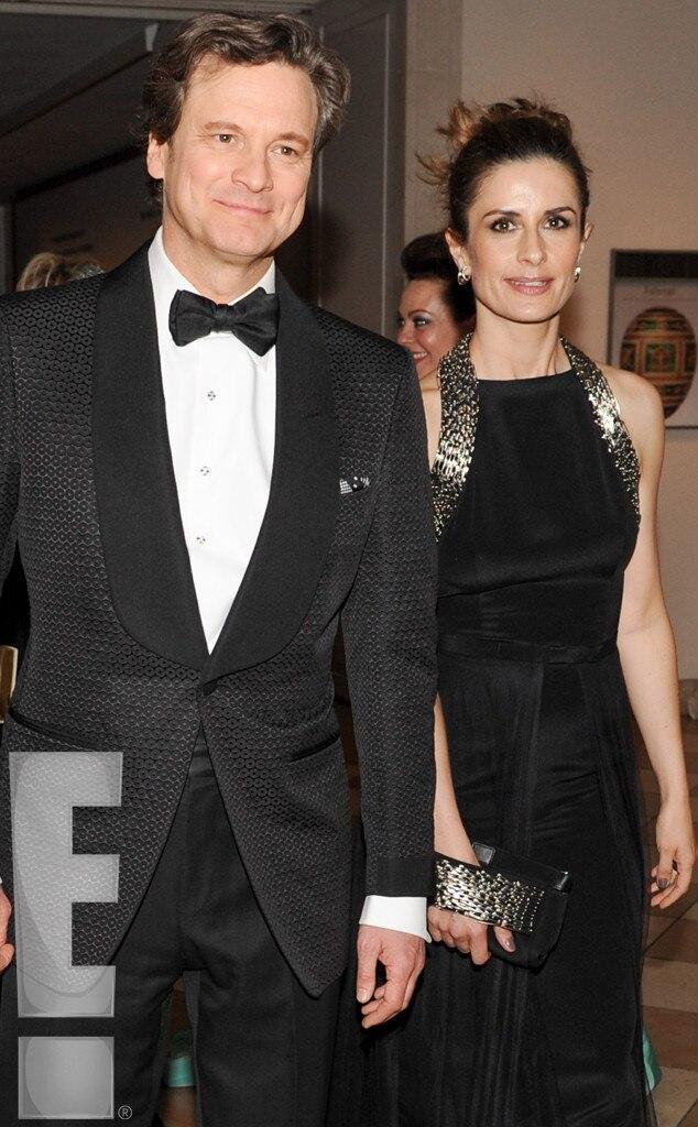 Colin Firth, Livia Giuggioli, MET Gala