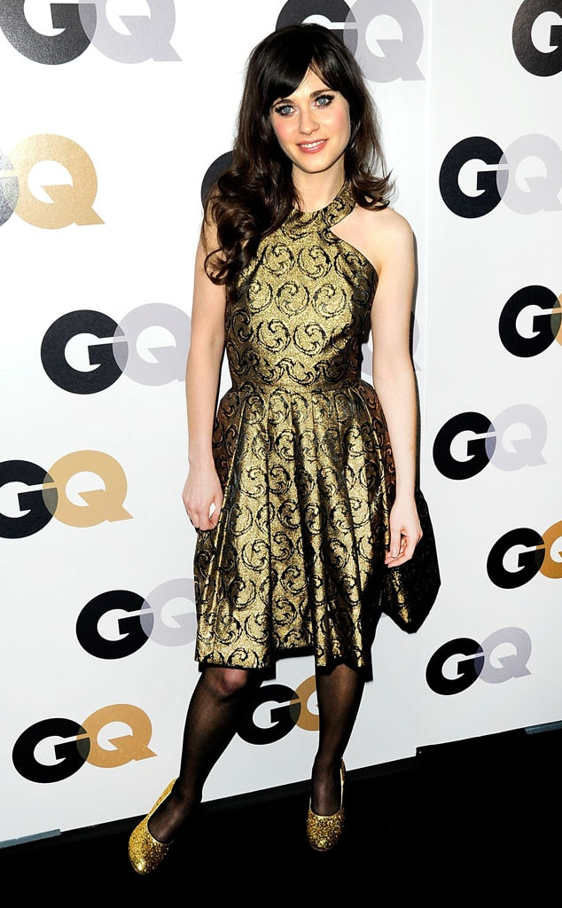 Zooey Deschanel, GQ Party