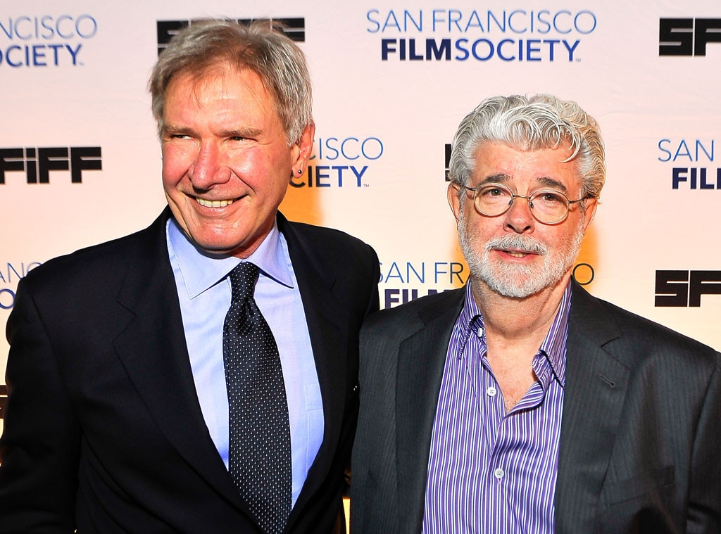Harrison Ford, George Lucas