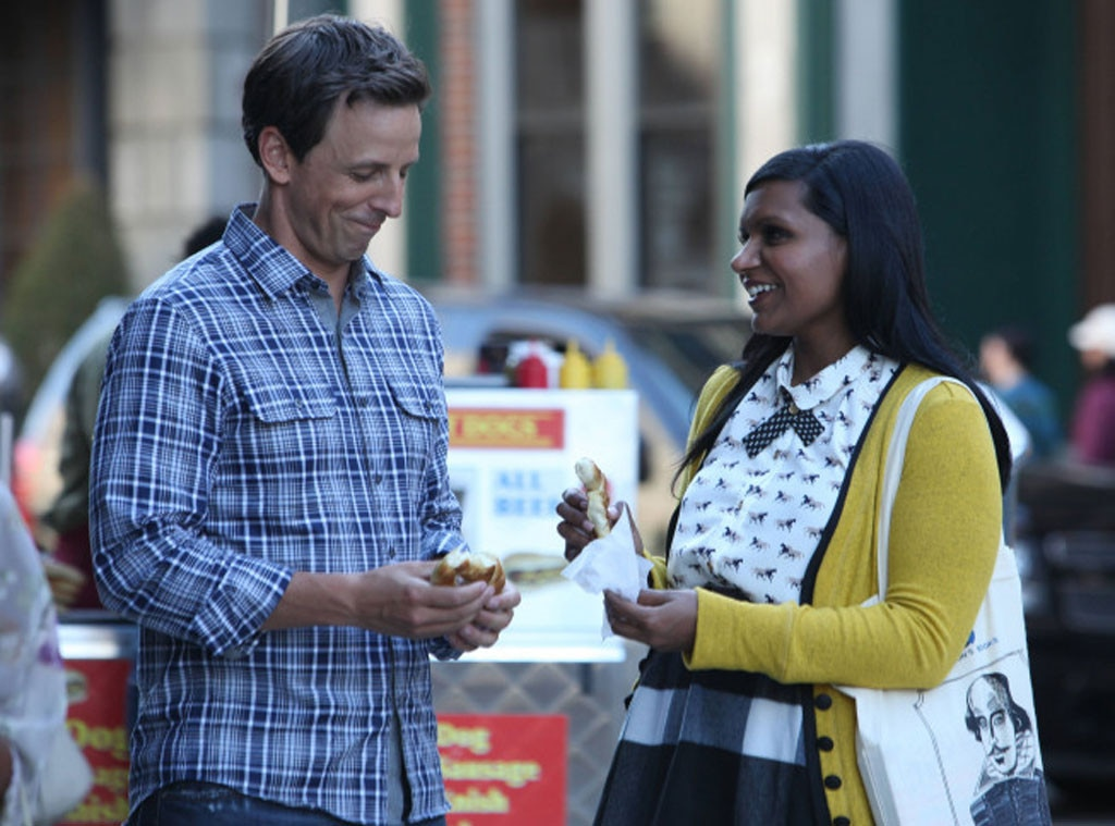 THE MINDY PROJECT, Mindy Kaling, Seth Meyers