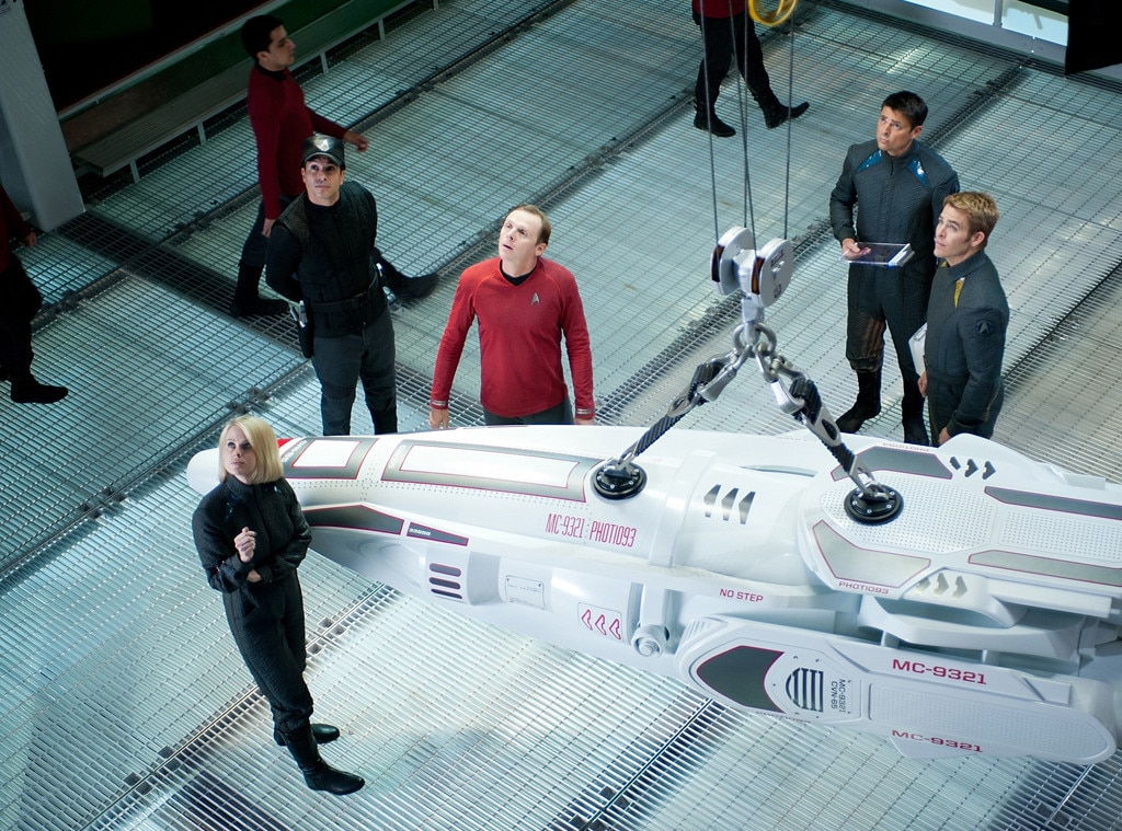 Star Trek Into Darkness, Alice Eve, Simon Pegg, Karl Urban, Chris Pine
