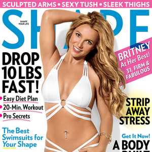 Britney Spears, Shape Cover