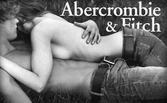 Abercrombie & Fitch ad