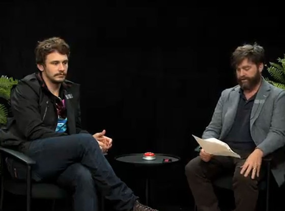 James Franco, Zach Galifianakis, Funny Or Die