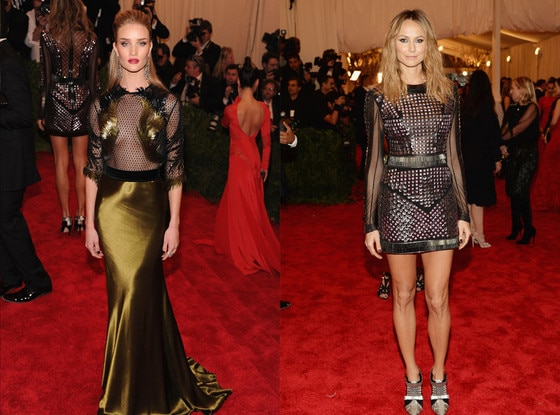 Rosie Huntington-Whitely, Stacy Keibler, MET Gala