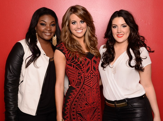 Candice Glover, Angie Miller, Kree Harrison, Top 3 American Idol