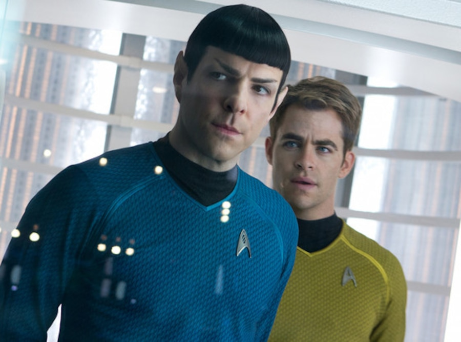 Star Trek Into Darkness, Chris Pine, Zachary Quinto