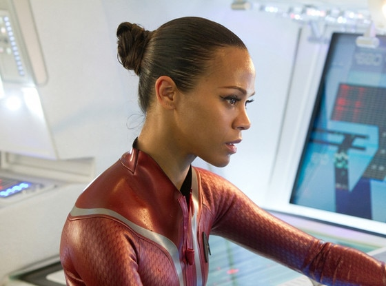 Star Trek Into Darkness, Zoe Saldana