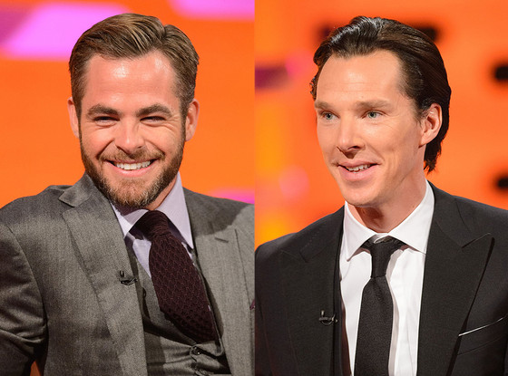 Benedict Cumberbatch, Chris Pine