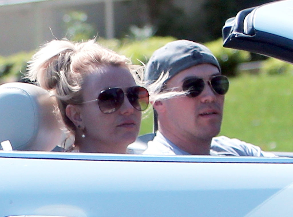 Britney Spears, David Lucando