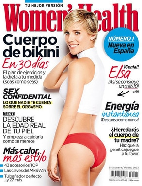 Elsa Pataky, Spanish Women's Health