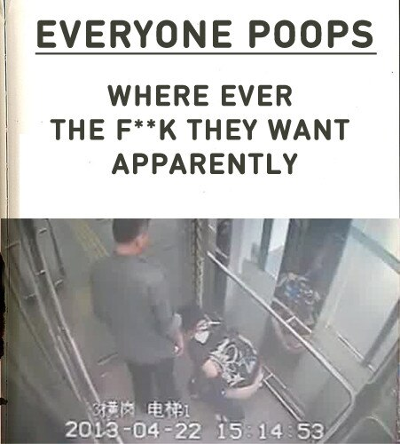 Everyone Poops everywhere