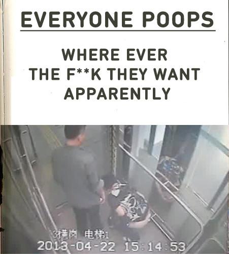 Everyone Poops everywhere