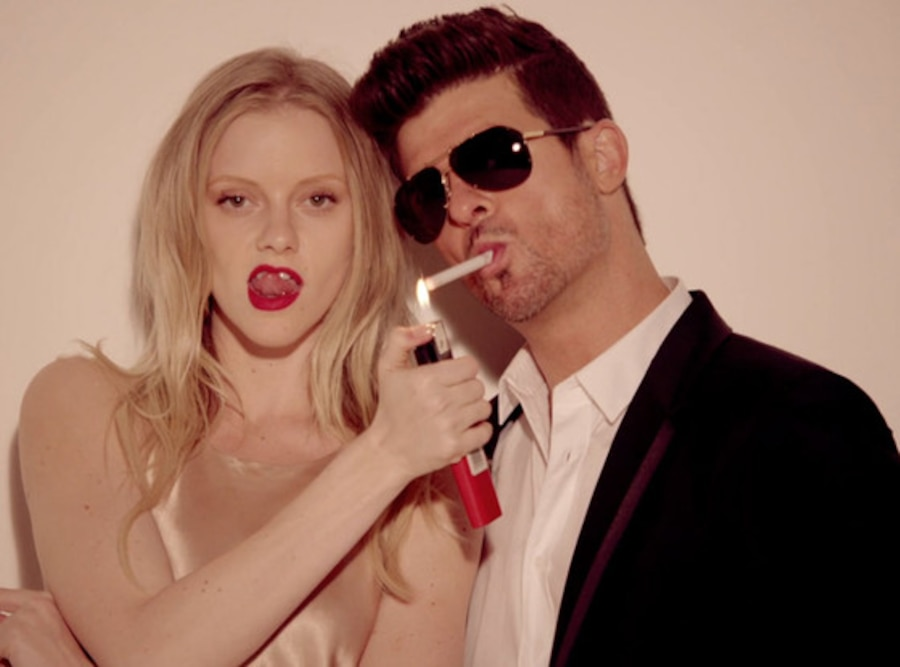 Robin Thicke, Blurred Lines Video