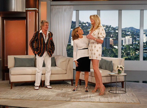 Katie Couric, Rod Stewart, Penny Lancaster