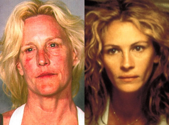 Erin Brockovich-Ellis, Booking Photo, Mugshot, Julia Roberts