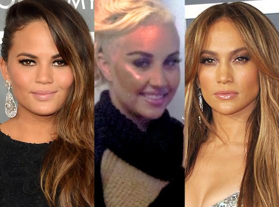Chrissy Teigen, Amanda Bynes, Jennifer Lopez