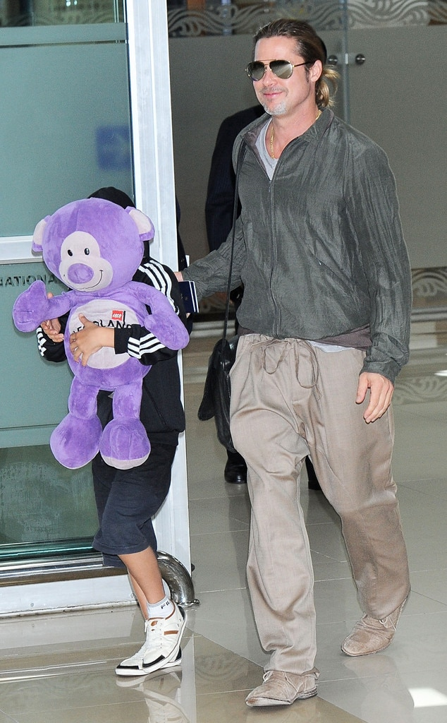 Brad Pitt, Pax Jolie-Pitt