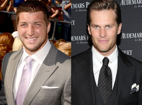 Tim Tebow, Tom Brady