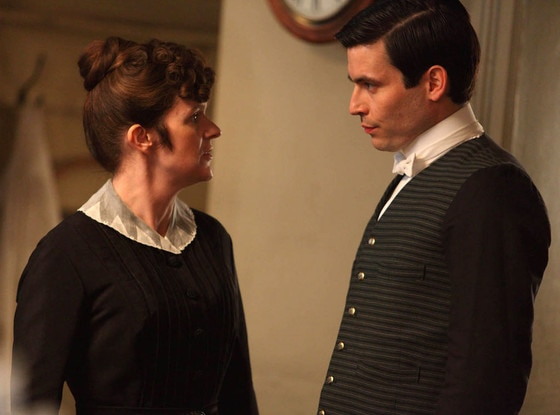 Siobhan Finneran, Downton Abbey, Rob James-Collier