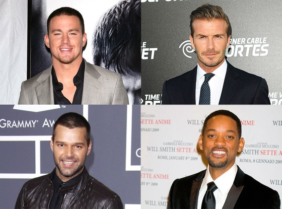 David Beckham, Will Smith, Channing Tatum, Ricky Martin