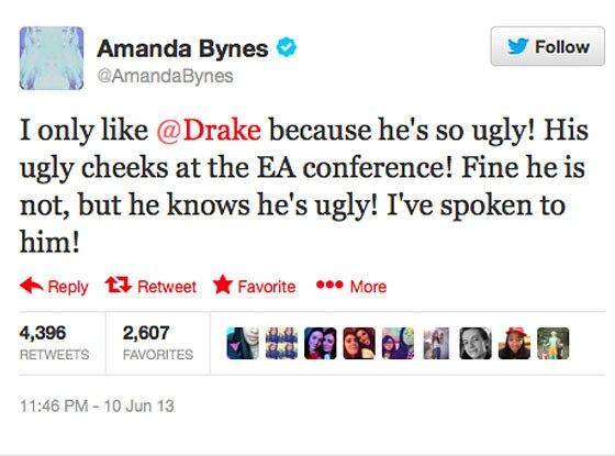 Amanda Bynes, Twitter