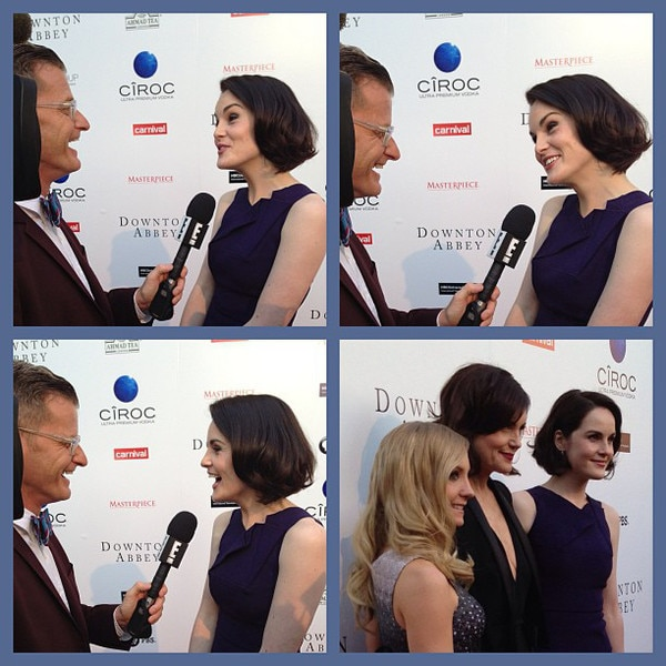 Marc Malkin, Michelle Dockery, Instagram