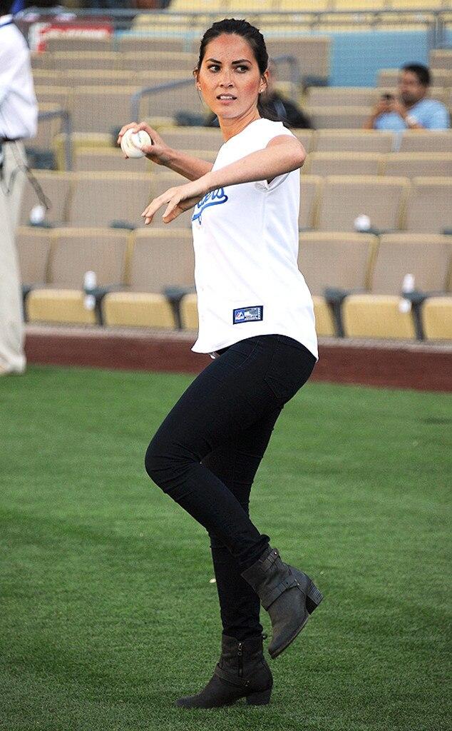 Olivia Munn, Los Angeles Dodgers