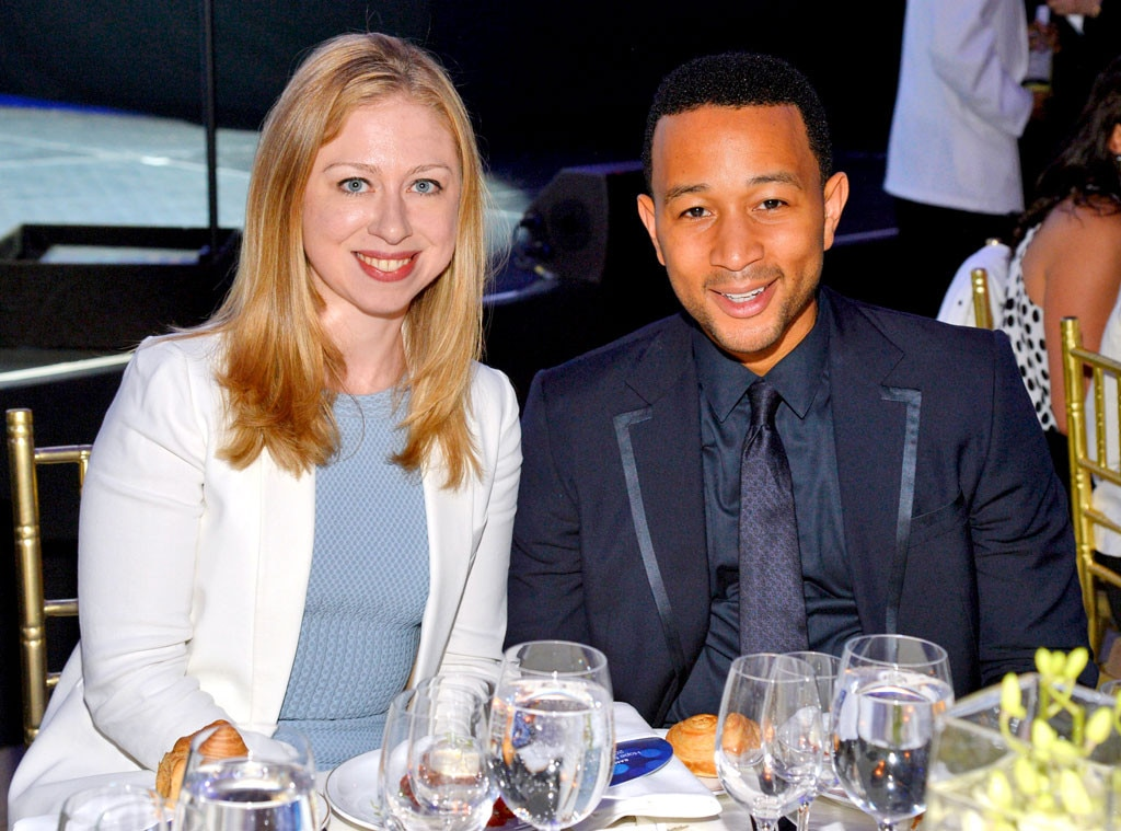Chelsea Clinton, John Legend