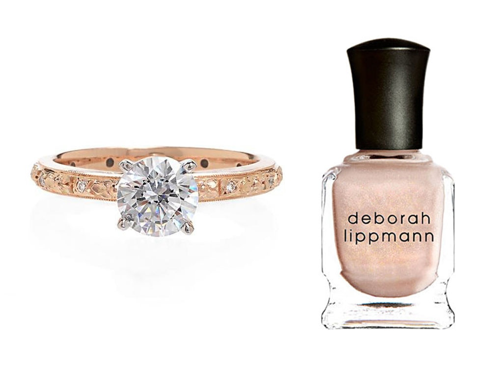 Engagement Rings, Nail Polish Splits