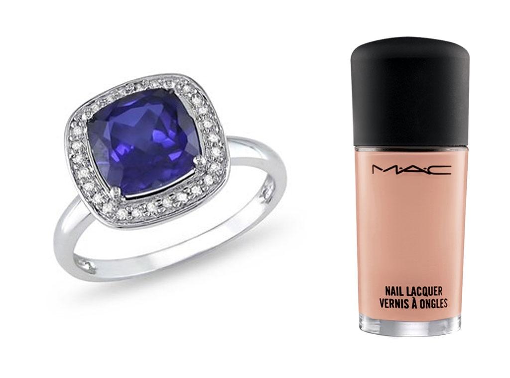 Engagement Rings, Nail Polish Splits