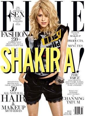 Shakira, ELLE