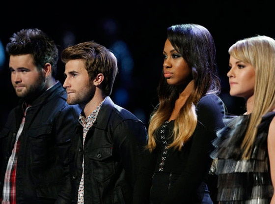 The Voice, Zach Swon, Colton Swon of The Swon Bros, Sasha Allen, Amber Carrington