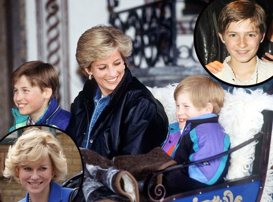Prince William, Princess Diana, Prince Harry, Laurence Belcher, Naomi Watts